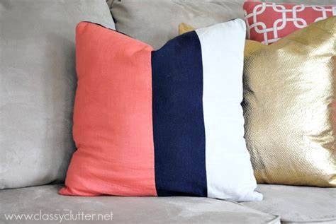 throw pillow ideas diy throw pillow ideas classy clutter