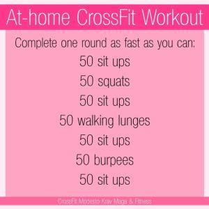at home no equipment crossfit workout for the days i