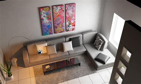 c4d living room top view 3d model c4d cgtrader