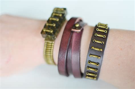Diy Leather by Diy Leather Bracelets For The Jewelry Novice