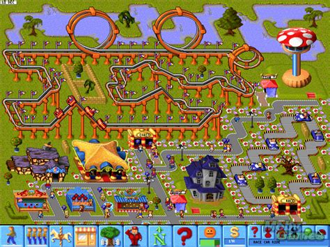 download theme park pc game download theme park dos games archive