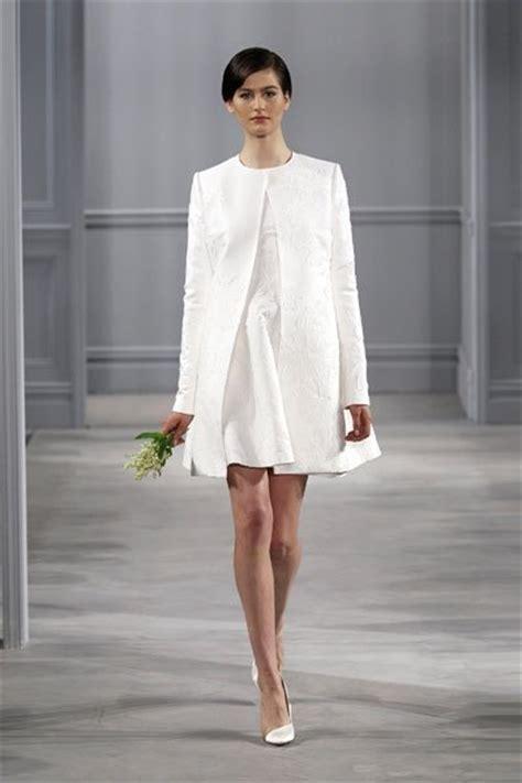 Hochzeitskleid Kurz Schlicht by Sch 246 Ne Kurze Hochzeitskleider Schlicht Mit Blazer