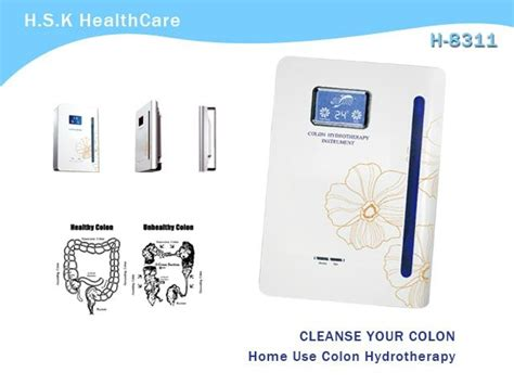 home use colon hydrotherapy equipment spa h 8311 hsk
