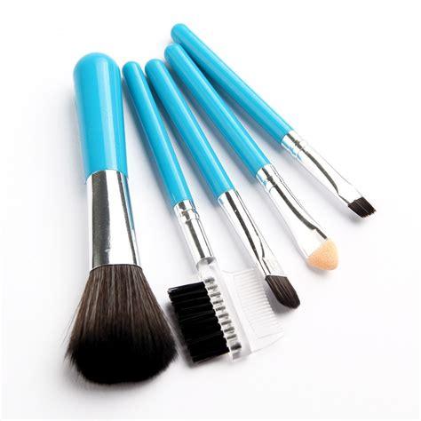 Fashion 6 Set Makeup Brush Set 9 fashion mini 5pcs makeup brushes cosmetics tools eyeshadow