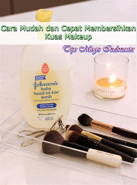Kuas Makeup Pupa cara membersihkan kuas make up dengan baik dan aman