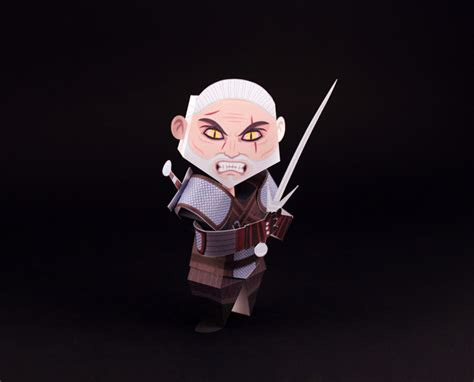 Witcher 2 Papercraft - tougui x gog witcher 3 hunt official