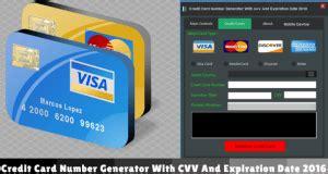 kreditkarten generator cvv credit card number generator with cvv and expiration date