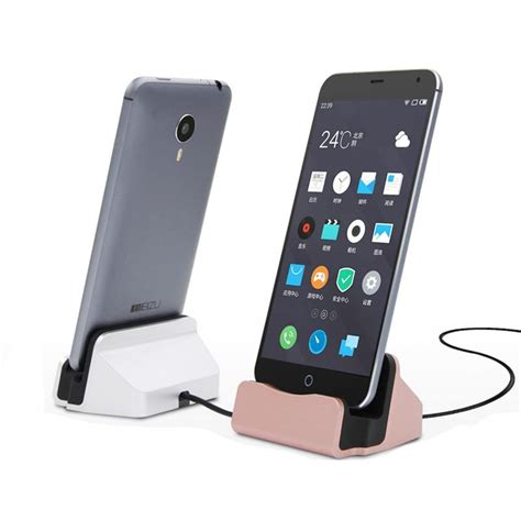 phone charging stand universal phone stand holder micro usb charging dock