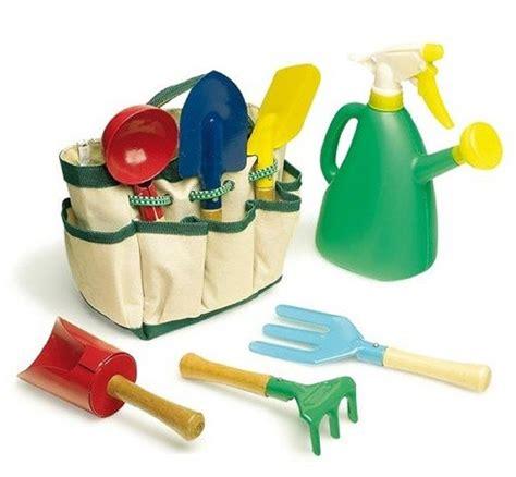 Children s 8 piece garden tool bag set childrens garden tools