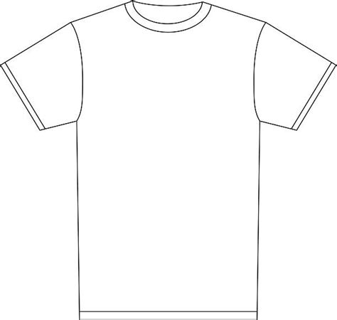 T Shirt Empty shirt clipart empty pencil and in color shirt clipart empty