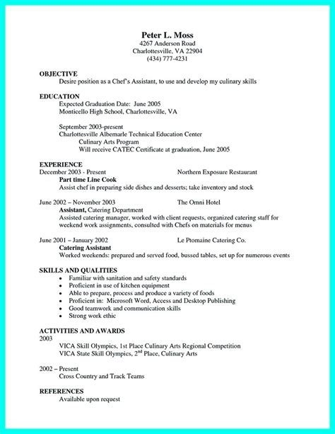 Sous Chef Resume by Cv Template For Sous Chef Gallery Certificate Design And