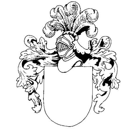 escudos de apellidos gratis para imprimir dibujo de escudo de armas y casco para colorear dibujos net