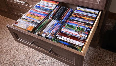 Dvd Drawers by Media Center And Home Theater Storage System For Family Room