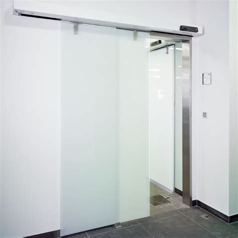 Dorma St Manet Automatic Sliding Door With Toughened Glass Glass Sliding Doors