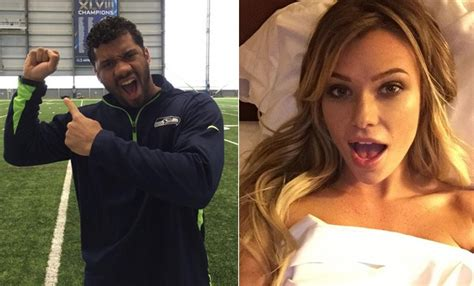 russell wilson wife russell wilson hanging with samantha hoopes but not dating