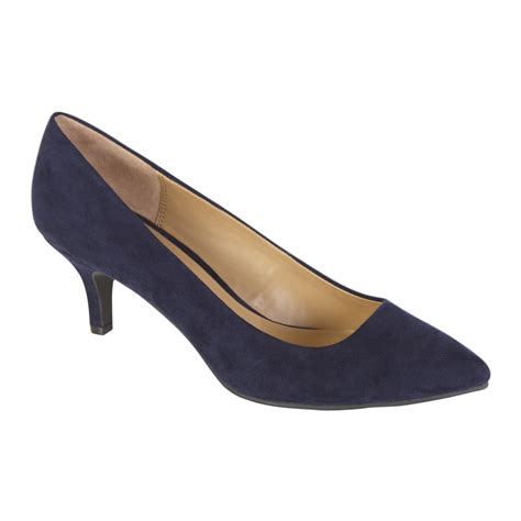 navy dress shoes attention s dress shoe zoey faux suede navy