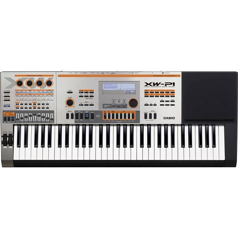 casio xw p1 61 key performance synthesizer xw p1 b h photo