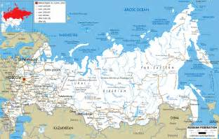 russia political map with cities maps of russia detailed map of russia with cities and regions map of russia by region map
