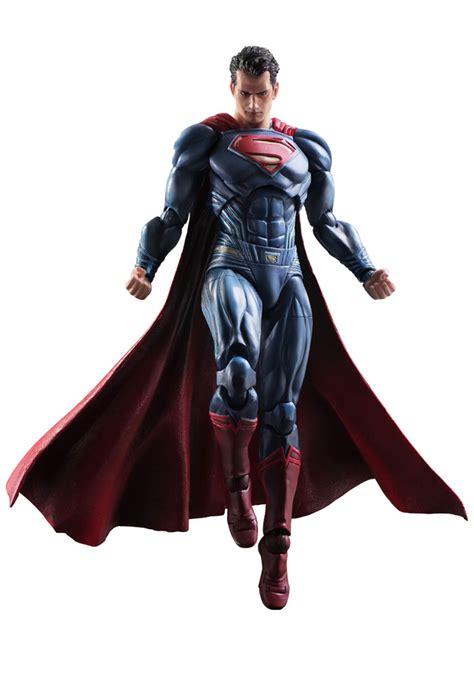 Figure Batman Vs Superman Superman Bendable Figure batman v superman square enix superman playarts figure