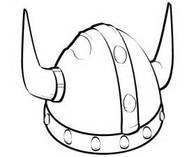 viking template free viking helmet vector 123freevectors