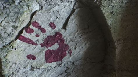 chang thailand jan 27 unidentified master makes blood dripping though the water to the rocks stock footage