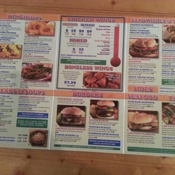 wing house menu winghouse bar grill 19 photos chicken wings largo