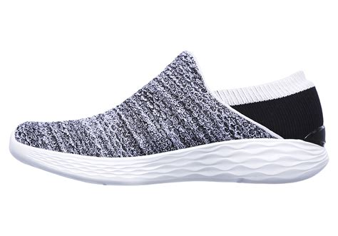 Skechers By You womens you by skechers slip on white black