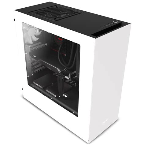 Nzxt S340 White nzxt s340 mid tower computer white ca