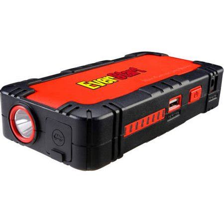 everstart multi function jump starter & battery charger