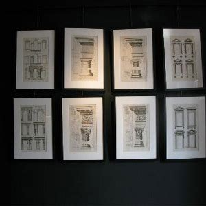 set  early  century french architectural prints