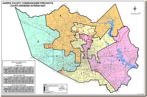 harris county texas precinct map harris county precinct map my
