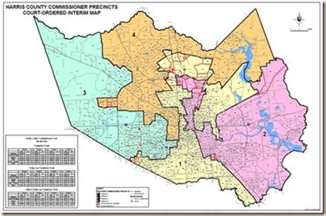 harris county precinct map my