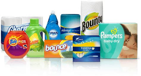 home products procter gamble