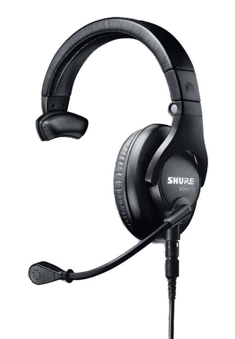 Headset Shure shure brh441m headset single ear 37 ohms 200 ohm dynamic