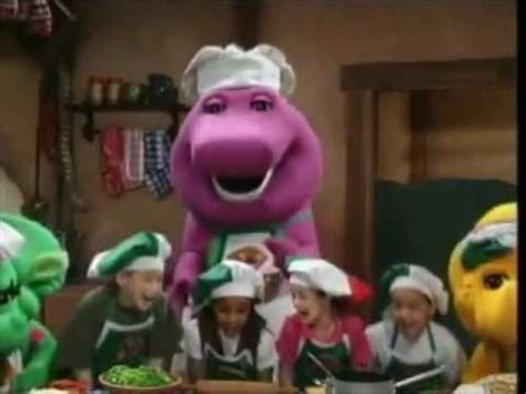 """barney music video """"nothing beats a pizza"""" youtube"""