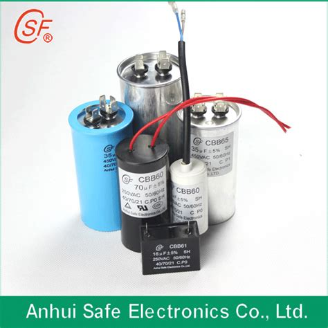 capacitor ac energy ac motor run capacitor cbb65 csf saifu china manufacturer other electrical electronic