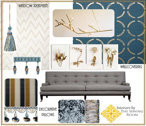 home decor design board mood board interiors by the sewing room