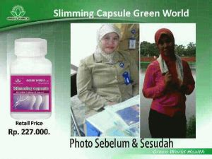 Pelangsing Green World obat herbal pelangsing alami quot hp 085729353354 pin bb