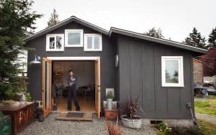 Small Garage Designs Small Garage Converted To Tiny Mini House Idesignarch