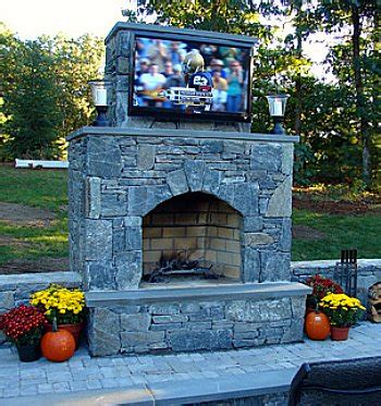 outdoor living tv fireplace outdoor fireplaces tvs