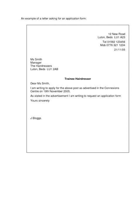 how to mail a letter leave application sle email standart print emergency 1303