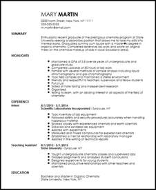 entry level resume templates free free entry level chemist resume template resumenow