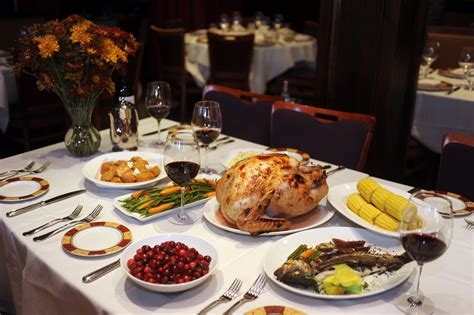 where to dine on thanksgiving day in baltimore