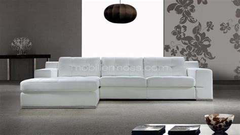 canape d angle blanc photos canap 233 d angle cuir blanc design