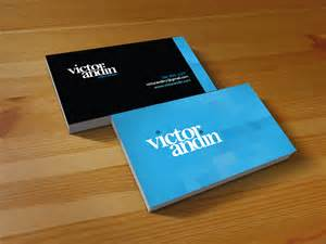 victor andin design name card victor andin design