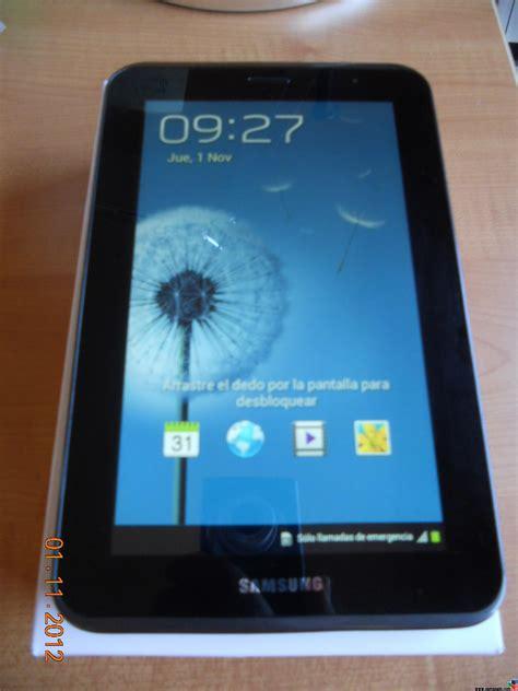 Samsung Tab 3 Lite 3g Tabloid Pulsa vendo samsung galaxy tab 2 7 0 3g 8gb gris