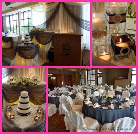 navy burlap wedding   themanorweb21 Castor Grey, Navy Blue & Bling @ The Manor in Kettleby   It