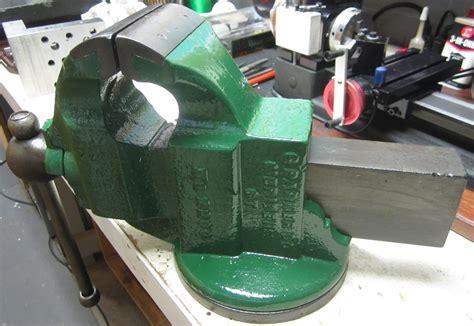Mi Shop Tools Inventions Parker Bench Vise Mod No 2200