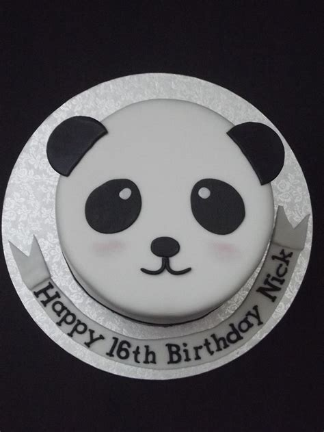Panda Bear Cake Cakes In  Panda  Ee  Birthday Ee   Cake