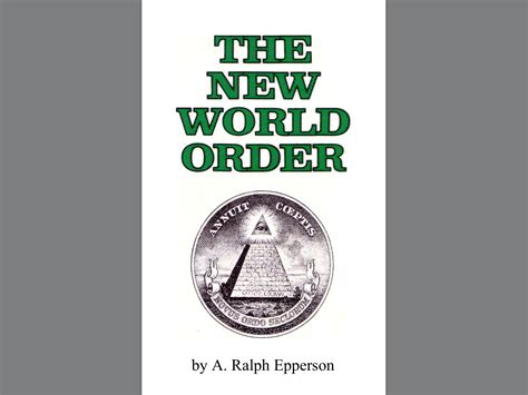 quot the new world order quot book from 1990 page 1